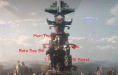 Huevo de pascua en tráiler de Thor: Ragnarok