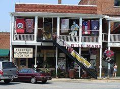 Wildman's Civil War Surplus in Kennesaw -- The establishment that inspires Tai's gun shop