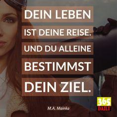 Gute Reise! #Deutsch #spruch #statement #Täglich #365-daily.com #textdealer.de #MichaelMainka #365_daily-hamburg #sinnlich #sinnvoll #Sprüche #Weisheit #weisheiten