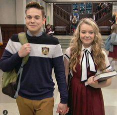 """""""Aren't Freddy & Summer the cutest couple ever? Henry Danger Nickelodeon, Nickelodeon Girls, Nickelodeon Shows, School Of Rock Musical, Just Add Magic, Ariana Grande Photoshoot, Camp Rock, The Best Series Ever, Cutest Couple Ever"""