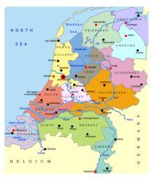 Regioni Olanda