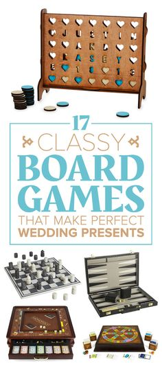 17 Ridiculously Classy Board Games That Make Perfect Wedding Presents