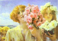 "Sir-Lawrence-Alma-Tadema ...""Summer Offering"""