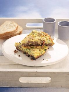 Minced meat omelette - www. Leftovers Recipes, Meat Recipes, Cooking Recipes, Minced Meat Recipe, Mince Meat, Omelette, Greek Recipes, Best Breakfast, Meals For The Week