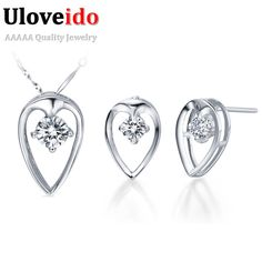 Find More Jewelry Sets Information about Uloveido Wedding Jewelery Set Engagement Accessories for Bridals Jewelry Sets Bijoux Earrings for Women Necklace Vintage T027,High Quality accessories rack,China accessories cctv Suppliers, Cheap accessories style from Uloveido Official Store on Aliexpress.com