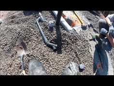 ▶ Complete Basement Plumbing With Sewage Pit Video 2 of 4 - YouTube