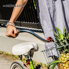 Nomaad, vous suit partout même en randonnées de vélo
