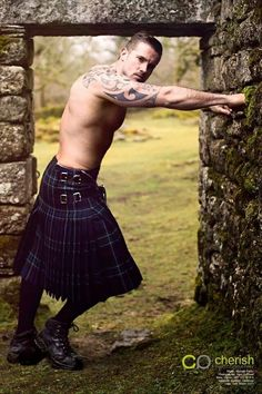 ... speechless... maybe it's the kilt.