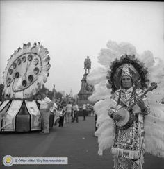 Mummers from the 1960's...Lots of String Bands (Banjo's) - Quaker City String Band played at my wedding in 1970....