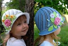 Resultado de imagen para fedora hat crochet pattern free,