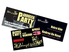 Kaos Agency - Cartoline e Flyer Discoteca