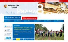 for Praha 8 website Web Design, Website, Design Web, Website Designs, Site Design