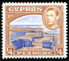 King George VI Postage Stamps: Cyprus 1938 (12 May)-51