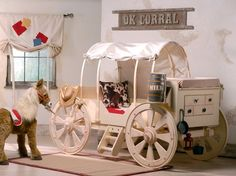 Cute Western theme child's room!