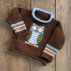 Knitted Sweaters for the Children!