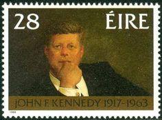 JFK Irish stamp
