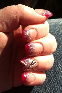 Acrylic nails tips by Beth