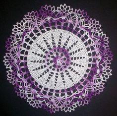 Easy Crochet Doily for Beginners | Doilies Crochet Pattern, Free Crochet Doilies Patterns, Doily Patterns