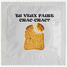 Préservatif Tu Veux Faire Crac-Crac ? #preservatif #crac-crac