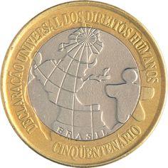 Moedas do Brasil - Catálogo Old Coins, Rare Coins, Coins Worth Money, Coin Worth, Cool Stuff, Retro, 1 Real, Fountain Pens, Editor