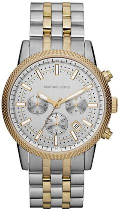 Michael Kors Round Two Tone Sport Watch, Jewelry & Accessories - Watches - Bloomingdale's Sport Watches, Cool Watches, Watches For Men, Michael Kors Men, Michael Kors Watch, Nordstrom, Beautiful Watches, Unisex, Stainless Steel Bracelet