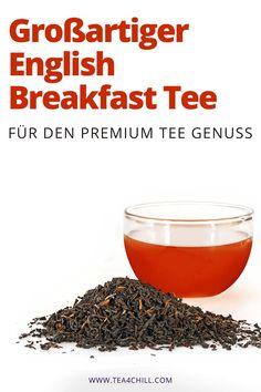 Premium English Breakfast Tee für den echten Teegenuss einfach hier bequem online bestellen. #teeliebhaber #teezeit Jasmin Tee, Oolong Tee, Mate Tee, Breakfast, How To Make Tea, Morning Coffee