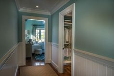 Located off the master gallery, the walk-in closet and dressing room sits in between the master bedroom and bathroom, connecting all the spaces in the master suite. #HGTVDreamHome