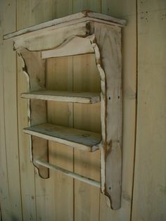 handmade wooden shelf