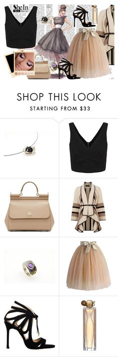 """""""Nice lady"""" by giampourasjewel ❤ liked on Polyvore featuring Dolce&Gabbana, MAC Cosmetics, Karen Millen, Chicwish, Chelsea Paris, Givenchy and Deborah Lippmann"""