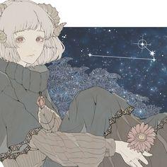 Anime Zodiac, Zodiac Art, Zodiac Signs, Art Anime, Manga Art, Anime Manga, Aesthetic Art, Aesthetic Anime, Art Zodiaque