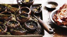 Thyme roasted mushrooms Recipe | Good Food