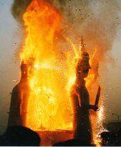 Burning of Ravanna , Dussehra ..... Tilak Aarti at Mehrangarh Fort