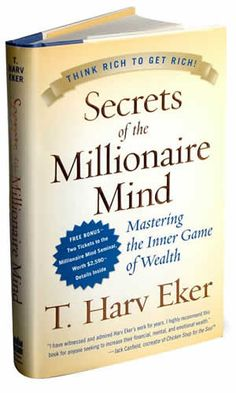secrets of a millionaire mind - This book was one of the first book which took me out of my poor way of thinking mentality. Such a great read for any Entrepreneur
