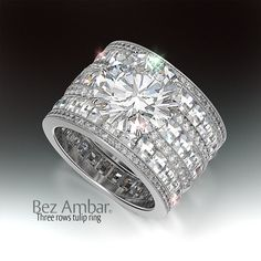 wide wedding rings with diamonds RsCmloqqR