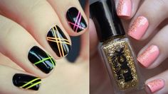 lineas Summer Nails, Nail Polish, Miami Vice, Style, Polish, Summery Nails, Finger Nail Painting, Manicures, Outfits