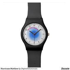 Hurricane Matthew Wristwatches