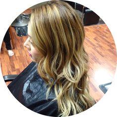 Balayaged blonde   http://meganlenton.wix.com/hairandmakeup