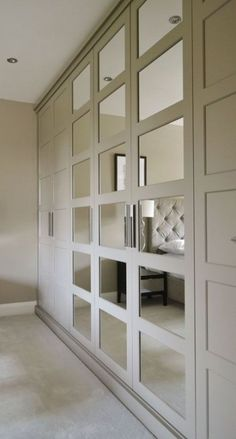 32 Best Ideas For Bedroom Wardrobe Ideas Built Ins Mirror Built Ins, Closet Designs, Bedroom Furniture Design, Closet Bedroom, Bedroom Design, Wardrobe Doors, Closet Doors, Home Decor, Bedroom Built In Wardrobe