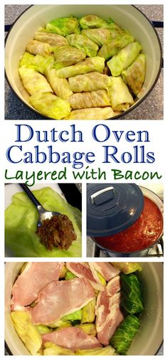 A Family Favourite Made Better With Bacon! Dutch Oven Golubsti – Cabbage Rolls with Bacon (Голубцы)