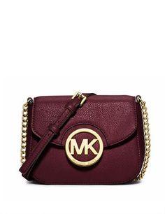 Michael Michael Kors Fulton Small Leather Crossbody