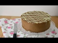 Cheesecake de chocolate frío - tartas y flanes y bizcochos - Vanilla Cake, Mousse, Cheesecake, Deserts, Lemon, Gluten Free, Recipes, Food, Google