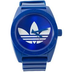 Blue adidas watch