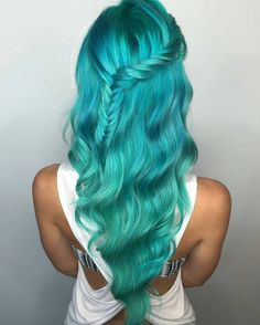 """134 Likes, 8 Comments - Hairkingz (@hair_kingz) on Instagram: """"Carribean haircolour dreams by #hairqueen @hairbykristinamarie . Tag your work with #hairkingz…"""""""
