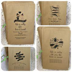 Custom and personalized popcorn bar bags for wedding, birthday, anniversary, shower Wedding Snack Bar, Wedding Popcorn Bar, Wedding Favors, Fall Wedding, Our Wedding, Dream Wedding, Wedding Ideas, Sweet Popcorn, Popcorn Bags