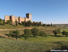 Castillo de Peñaranda de Duero, España