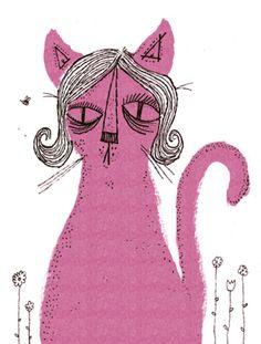 cat illustration by nolan pelletier.
