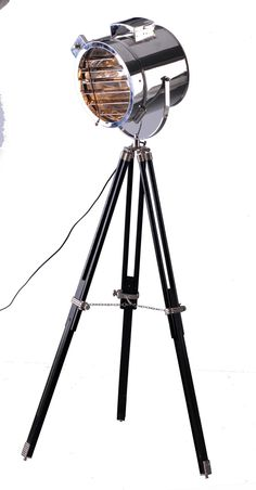 Furniture Online & Decorating Accessories | Stainless Steel Tripod Lamp, Large | Interiors Online Furniture $795.00