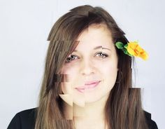 Sections portrait #photography #portrait #girl #sections #creativity