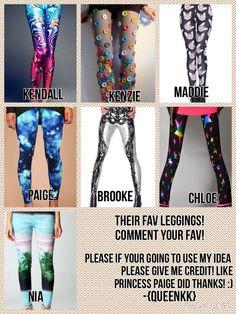 Their fav leggings!