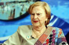Zilda Arns Neumann, fundadora e coordenadora nacional da Pastoral da Criança.
